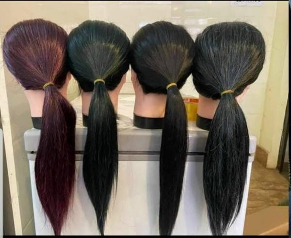 Đầu ken manocanh tập cắt tóc