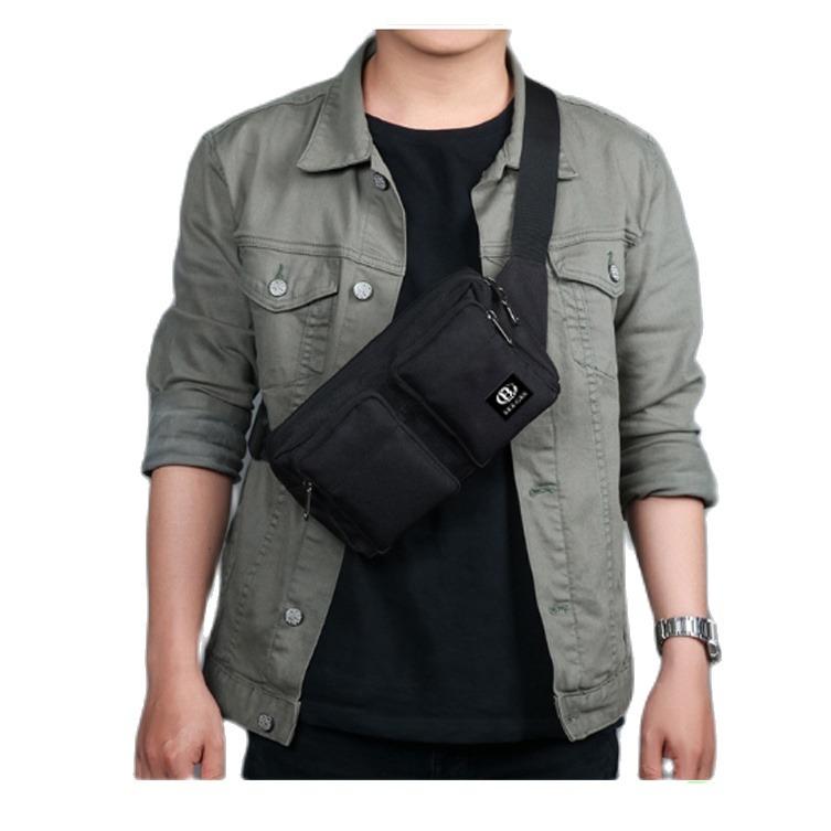 Voucher tại Lazada cho Túi Xách Bao Tử đeo Chéo Nam Nữ Thời Trang Hàn Quốc BEE GEE 066