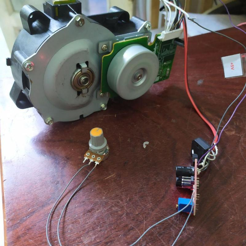 Giảm tốc motor brushless 12-24v 20-310rpm