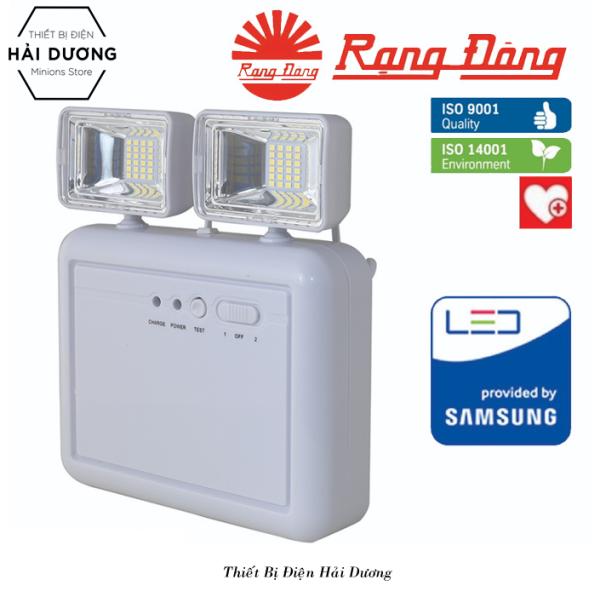 Đèn LED Chiếu Sáng Khẩn Cấp 6W Rạng Đông KC04/6W Ánh Sáng Trắng - Bảo hành 24 tháng
