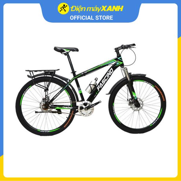 Mua Xe đạp địa hình MTB Fascino FS-126 26 inch Đen xanh lá