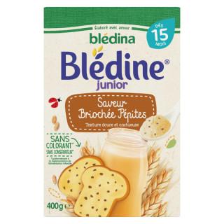 Bột pha sữa Bledina Pháp vị bánh mỳ 400g (15m) thumbnail