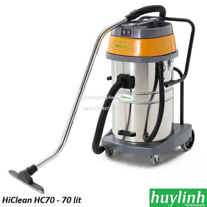 Máy hút bụi công nghiệp HiClean HC70 - 70 lít - Thái Lan