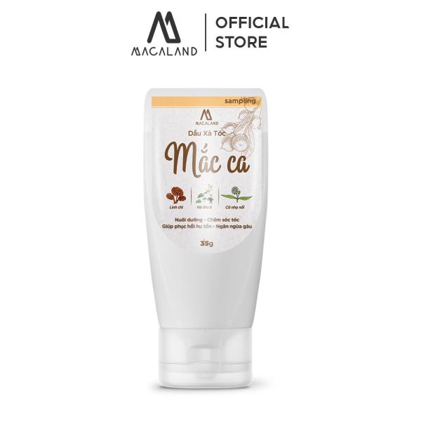 Dầu Xả tóc dầu Mắc Ca Macadamia 35ml MACALAND giúp tóc mượt và dày hơn (travel kit) giá rẻ