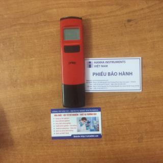 Bút đo pH điện tử HANNA-USA (có nhiệt độ) thumbnail
