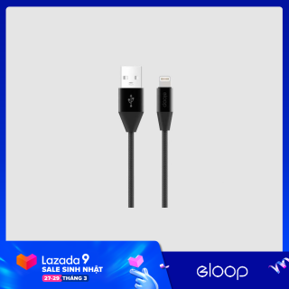 Dây Cáp Sạc Dài 1.2m Eloop S31 - Lightning - Hãng Phân Phối Chính Thức thumbnail