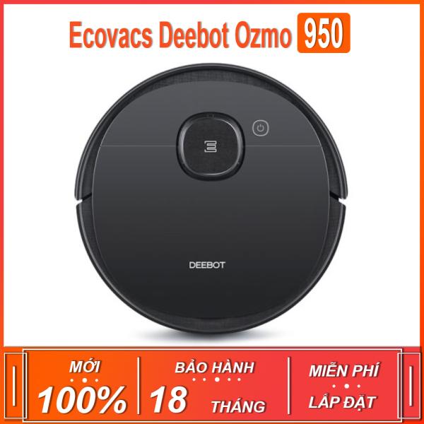 Robot hút bụi , lau nhà thông minh Ecovacs Deebot Ozmo 950 ( BẢN QUỐC TẾ - BẢO HÀNH 18 THÁNG )
