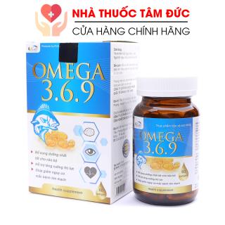 Viên dầu cá Omega 369 bổ não, sáng mắt, khỏe mạnh tim mạch cho người trên 6 tuổi - Hộp 60 viên thumbnail