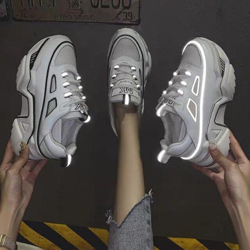 Giày thể thao nữ sneaker  phát quang độn đế 6cm FULL BOX giá rẻ