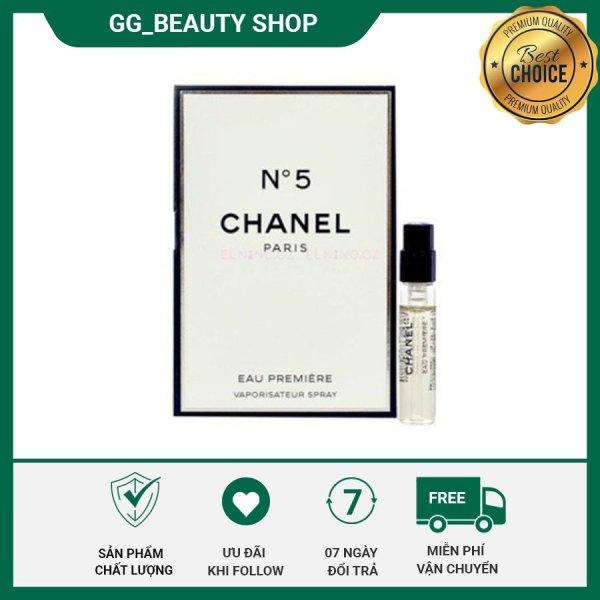 Nước hoa nữ Chanel No 5 Leau Eau De Toilette phong cách Ngọt ngào, nữ tính, sành điệu, tươi trẻ ( 1.5 ml ) - tặng kèm mặt nạ cao cấp Hàn Quốc VT