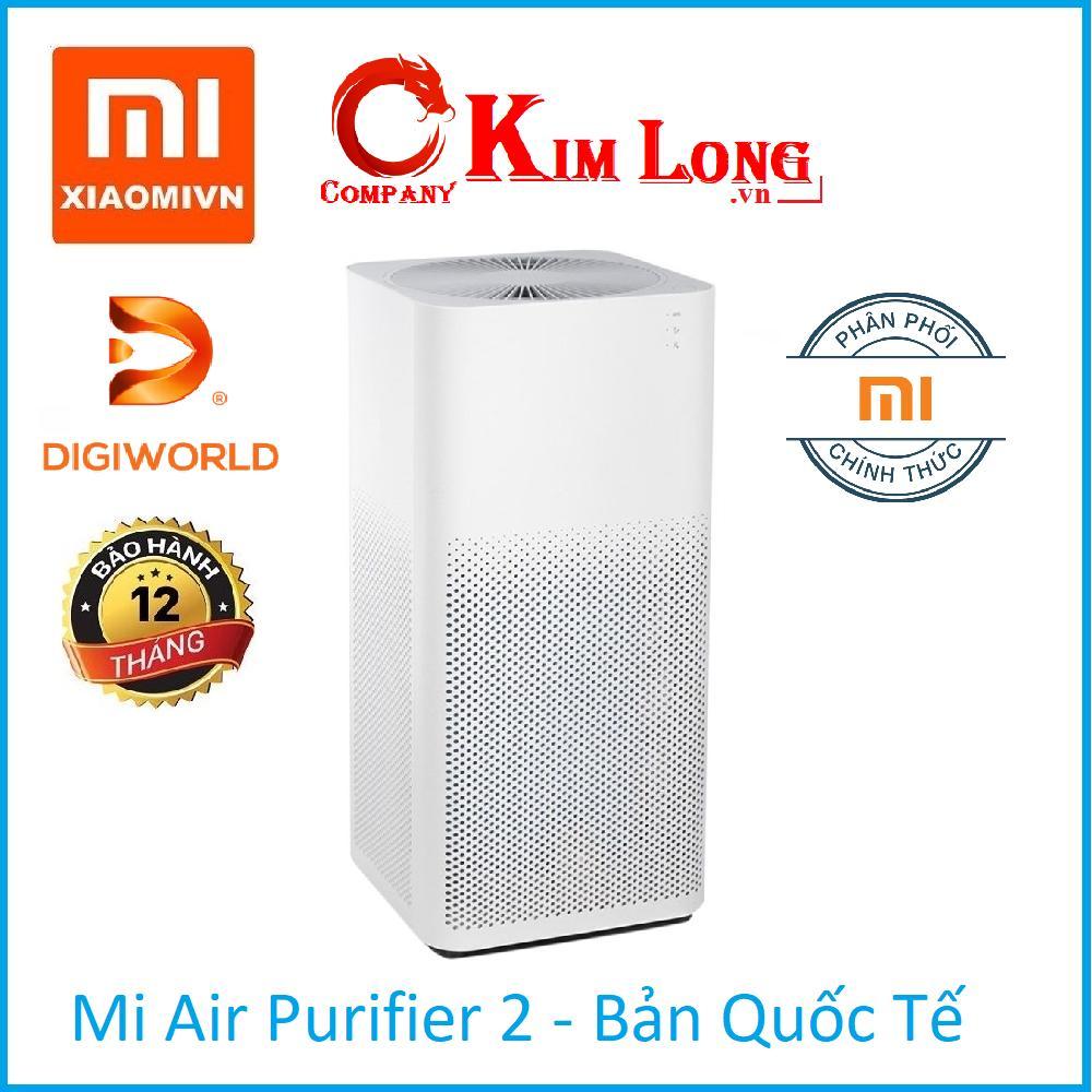 Bảng giá Máy lọc không khí Xiaomi Mi Air Purifier 2 Bản Quốc tế - DigiWorld phân phối