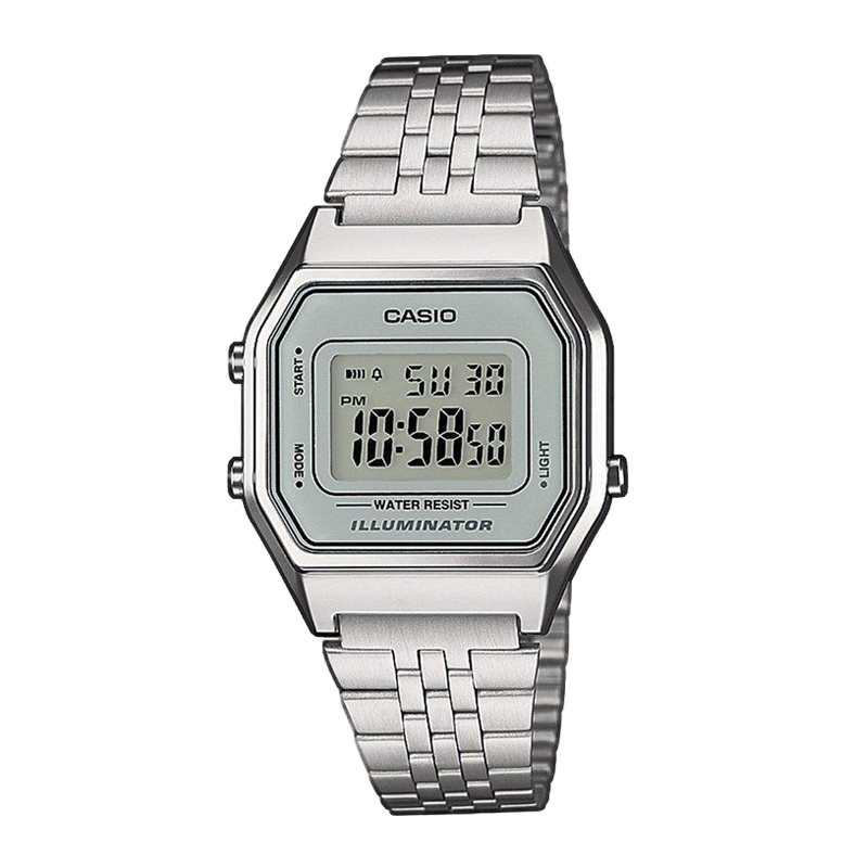 Đồng hồ nữ dây kim loại chính hãng casio LA680WA-7
