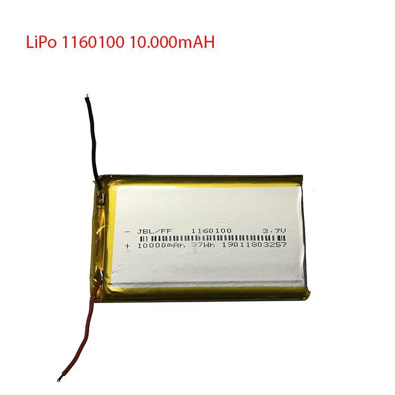 Pin Lion Polyme - Pin Lipo - 1260100 - 1160100 - Dung lượng 10000mAH - Dung lượng đủ