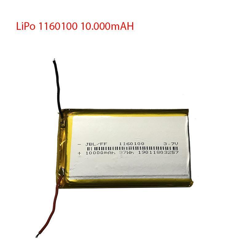Pin Lithium-ion Polyme - Pin Lipo - 1260100 - 1160100 - Dung lượng 10000mAH - Dung lượng đủ