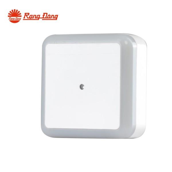 Đèn ngủ cảm biến Chính hãng Rạng Đông Cảm biến 2 chế độ Tiết kiệm năng lượng Tuổi thọ cao ĐN02.LS 65x65/0.3W