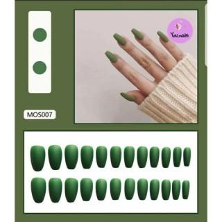 Set 24 móng giả siêu xinh, cá tính mã MOS007 thumbnail