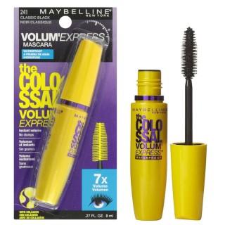 Mascara maybelline vàng the magnum volum express waterproof - mascara dày mi cực đại maybelline new york the magnum big shot waterproof - chuốt mi không lem không trôi 10ml - chuốt mi collagen dưỡng cong, dày mi, không lem trôi thumbnail