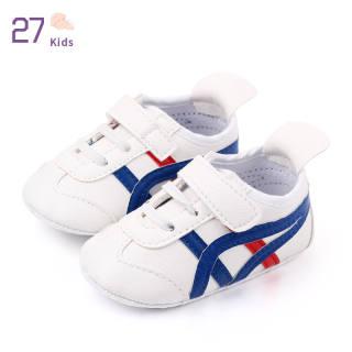 Giày Trẻ Em Bé Trai Bé Gái 27 Miếng Dán Ma Thuật Đế Da PU Mềm Chống Trượt Trẻ Sơ Sinh Toddler