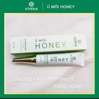 Ủ Môi Honey ATHENA ngừa Khô môi, Nứt Nẻ Giúp môi căng bóng thumbnail