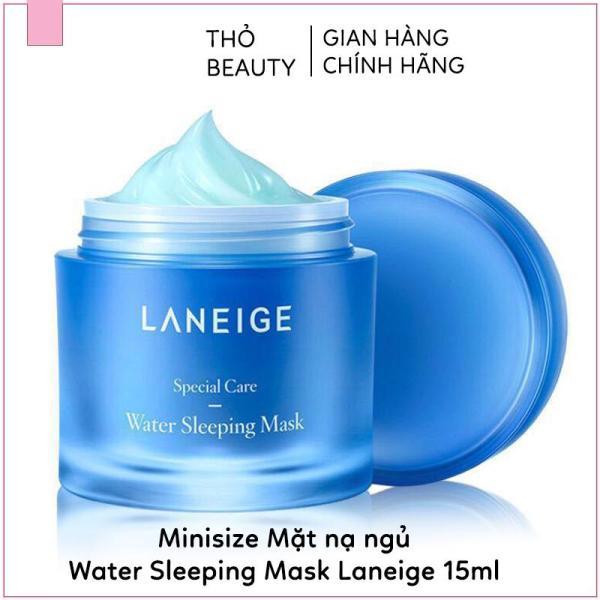 Mặt nạ ngủ LANEIGE Water Sleeping Mask. Chăm sóc làn da trong lúc ngủ là bí quyết để có làn da đẹp cao cấp