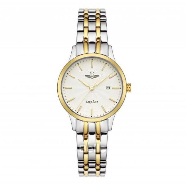 Đồng hồ nữ dây thép không gỉ Sunrise SL1076.1202TE