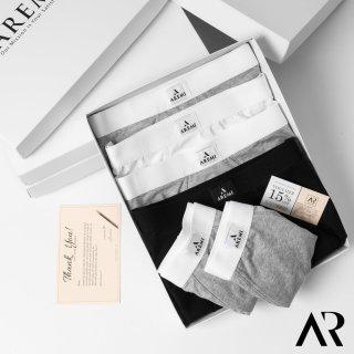 Quần lót nam DÁNG SỊP ĐÙI BOXER cotton co giãn 4 chiều AREMI 2021 thumbnail
