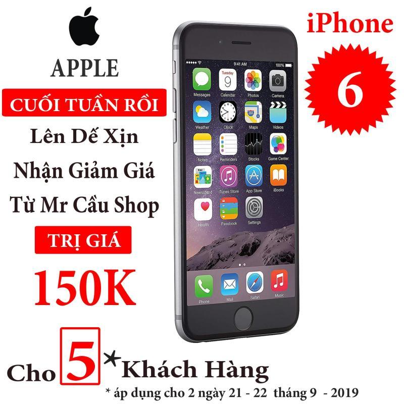 Điện thoại Apple iPhone 6 - Bản quốc tế  Full box  Full phụ kiện - Bảo hành 6 tháng - Đổi trả miễn phí - Yên tâm mua sắm với Mr Cầu ( Điện thoại giá rẻ, điện thoại smartphone, Điện thoại thông minh)