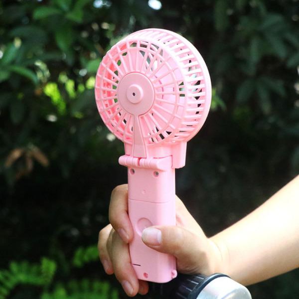 Bảng giá Quạt mini cầm tay chạy pin - Quạt cầm tay siêu mát tiện lợi cho mùa hè Phong Vũ