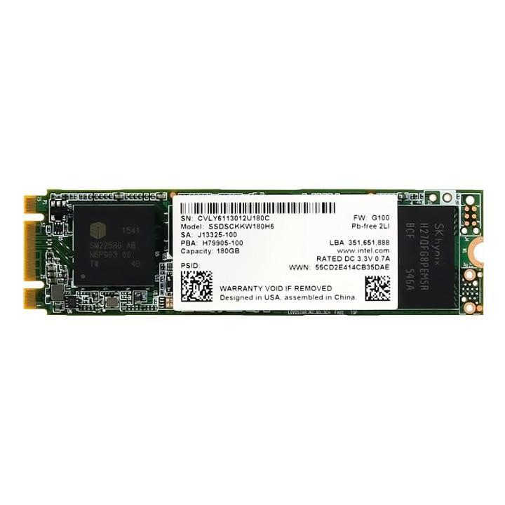 Giá Ổ cứng SSD M.2 2280 SATA Intel 540s 180GB - bảo hành 3 năm