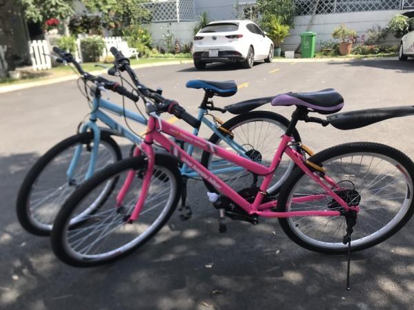 Phân phối Xe đạp thể thao Hahoo-Tặng bình nước