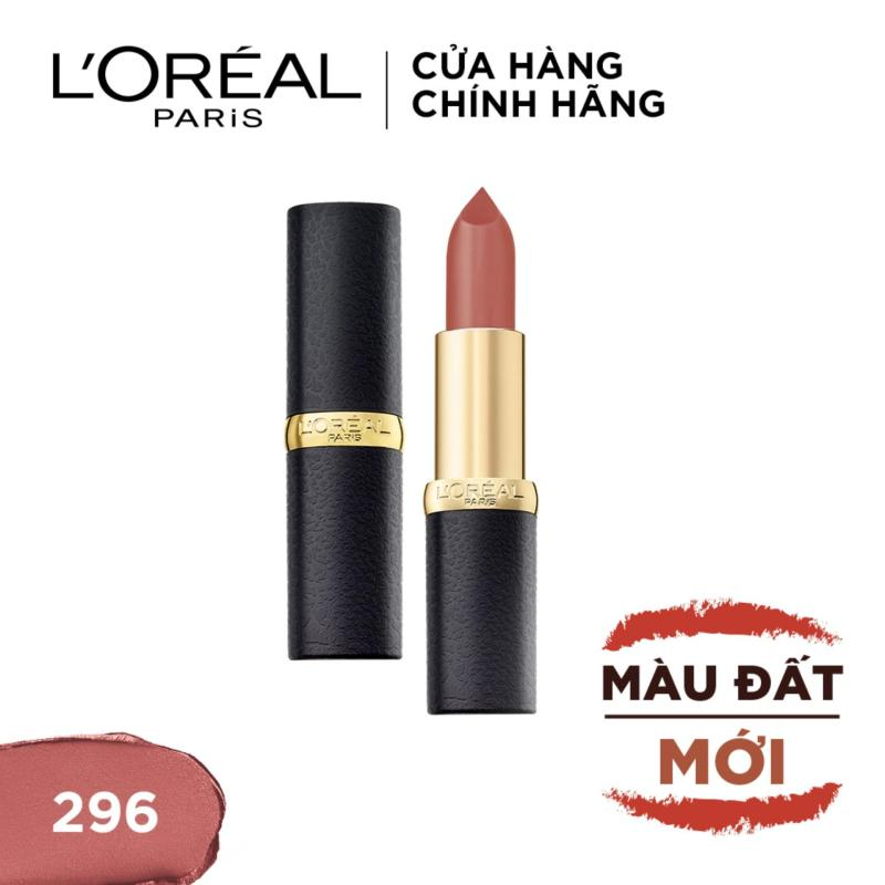 Son lì mịn môi LOreal Paris Color Riche Matte BST Worth the red 3.7g cao cấp