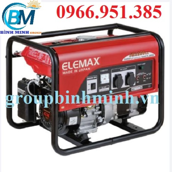 Máy Phát Điện Chạy Xăng Elemax SH3200EX 2.2KVA