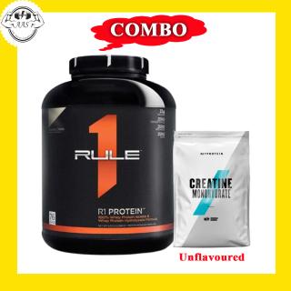 COMBO - RULE 1 PROTEIN 5LBS + CREATINE - Hỗ trợ tăng cơ giảm mỡ tối đa thumbnail