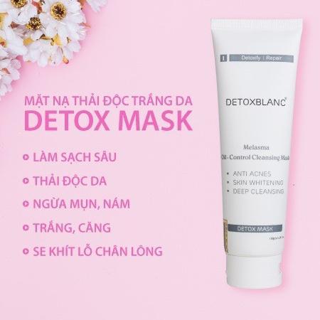 mặt nạ sủi bọt thải độc da Detox Blanc