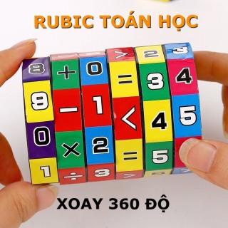Đồ chơi trẻ em rubic toán học phát triển khả năng tính toán kích thích tư duy trí não phát triển cho bé từ 4 đến 8 tuổi 2
