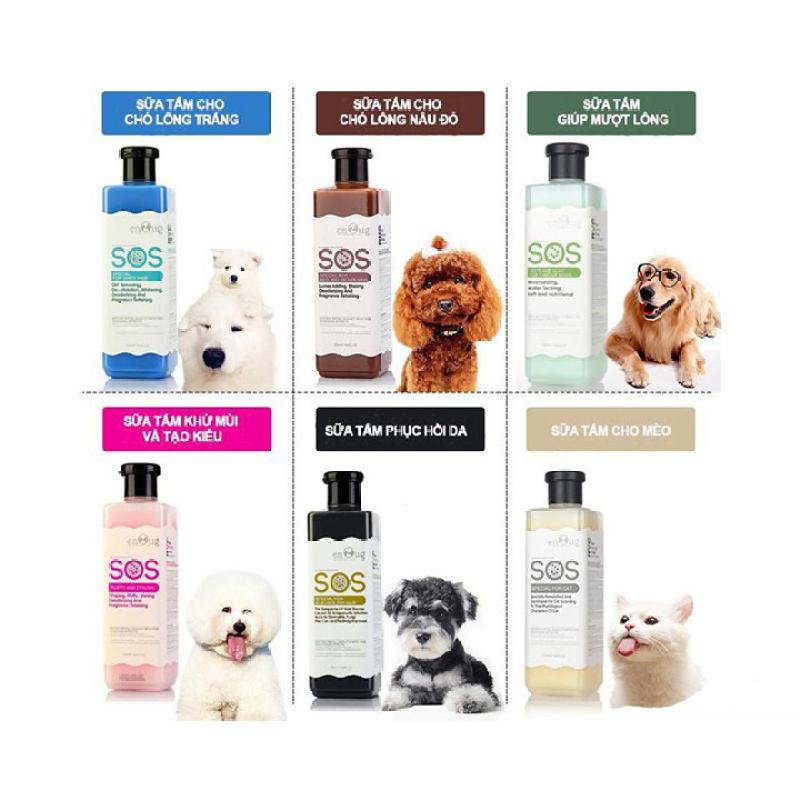Sữa Tắm SOS - 530ml (dùng cho mọi loại chó mèo)