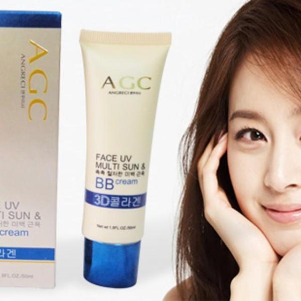 Kem nền AGC ( K80140 ) Hàn Quốc dưỡng da trắng hồng min tự nhiên K80140 tốt nhất