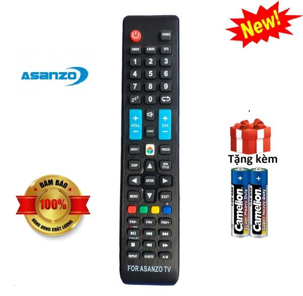 Bảng giá Điều khiển tivi Asanzo Smart tv asanzo - Hàng chuẩn [ tặng kèm pin, BH đổi trả ]