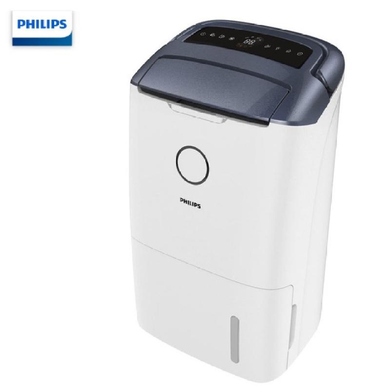 Máy hút ẩm kiêm máy lọc không khí trong nhà cao cấp Philips DE5206/00 công suất 355W, hiển thị chất lượng không khí 4 màu - Bảo hành 12 tháng