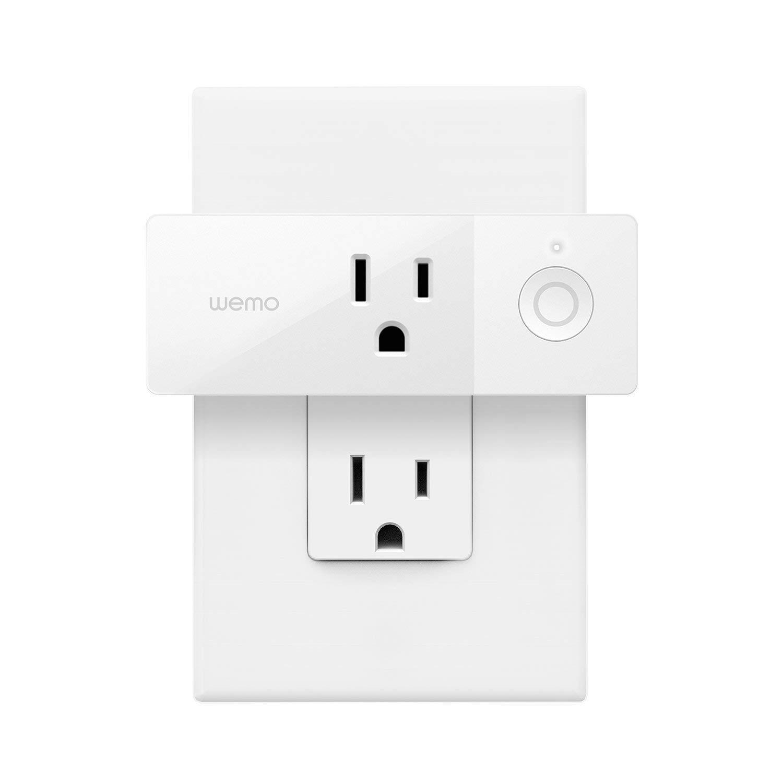 Ổ điện thông minh | Wemo Mini Smart Plug F7C063, Works with Alexa, Google Assistant, Apple HomeKit