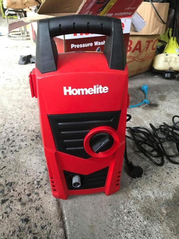 Máy Xịt Rửa Xe Mini Homelite 1400W