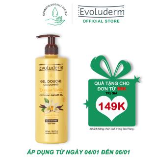 [Từ 04.01 đến 06.01-Quà cho đơn hàng 99k] Gel tắm Evoluderm chiết xuất Vanilla Gel Douche Cocooning Exquise Vanille 500ml - Giới hạn 1 sản phẩm khách hàng thumbnail