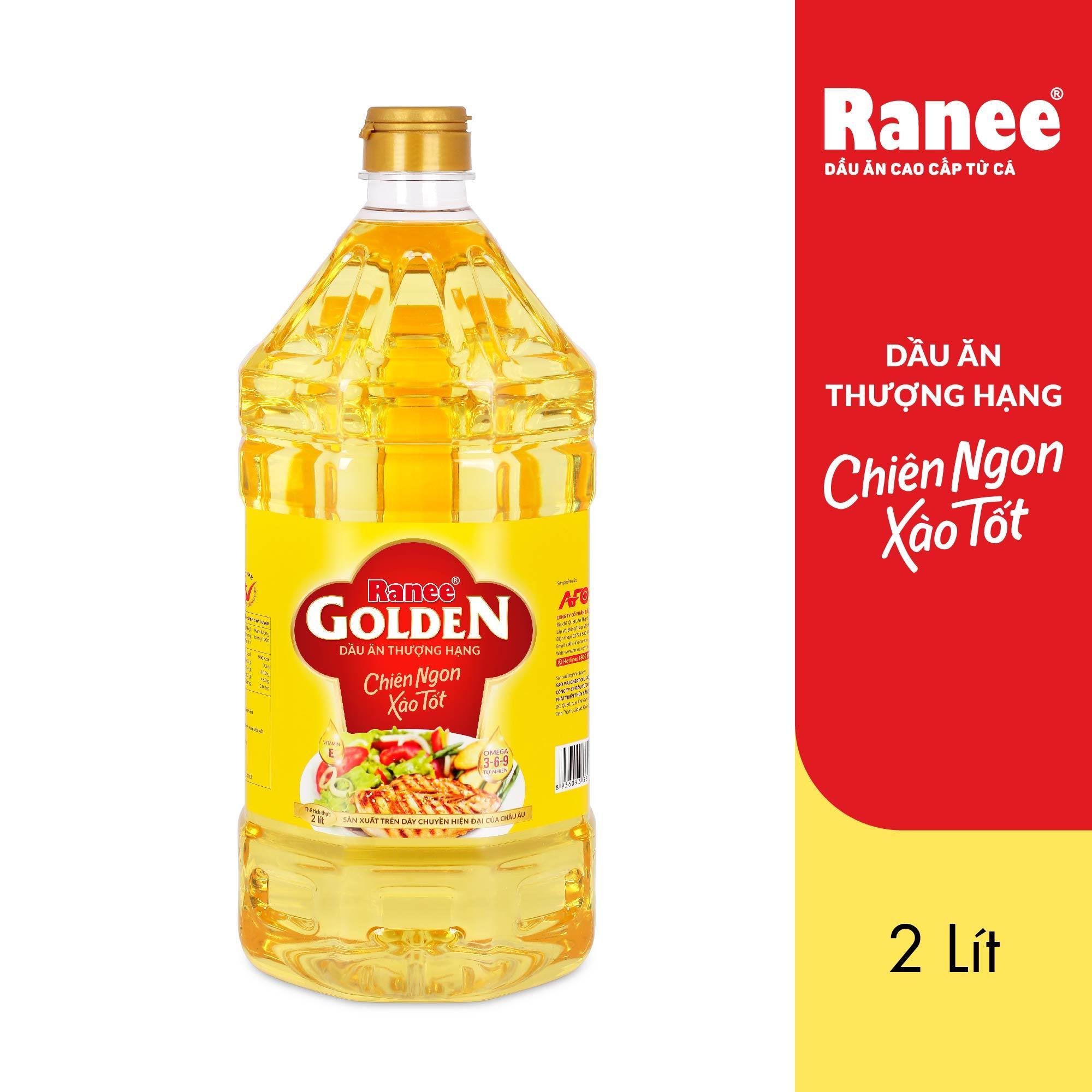 Dầu ăn thượng hạng Ranee Golden 2 lít