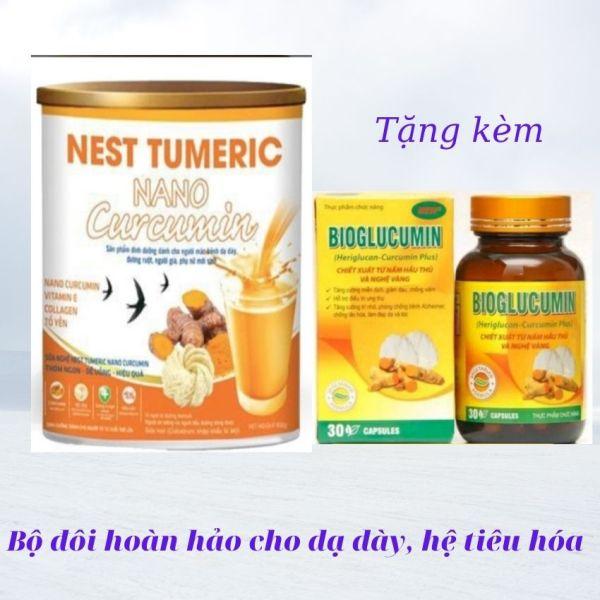 [Tặng 290K] Viêm loét dạ dày Sữa nghệ Nest Tumeric Nano Curcumin 900G dành cho người viêm loét dạ dày, làm đẹp, ngăn ngừa lão hóa, đại tràng, tiêu hóa