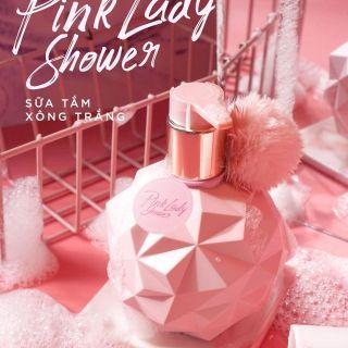 [H] Sữa Tắm Xông Trắng Pink Lady 300ml Trắng Hồng Da, Se Khít Chân Lông thumbnail