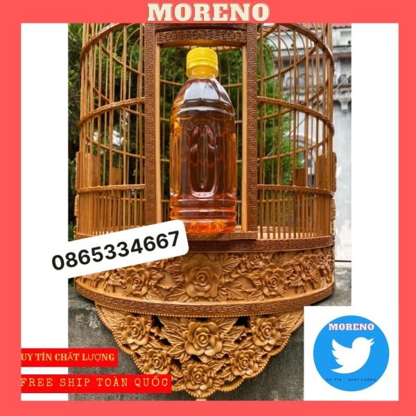 Dầu quét lồng chim MORENO lên màu sáng bóng - dầu ủ lồng chim cao cấp