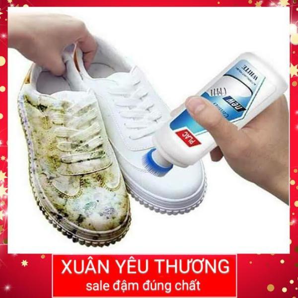 Nước rửa giày dung dịch vệ sinh túi xách 28k thể tích 100ml đánh sạch, sáng bóng các vết ố, sẫm màu lâu ngày trên giày, túi sách da