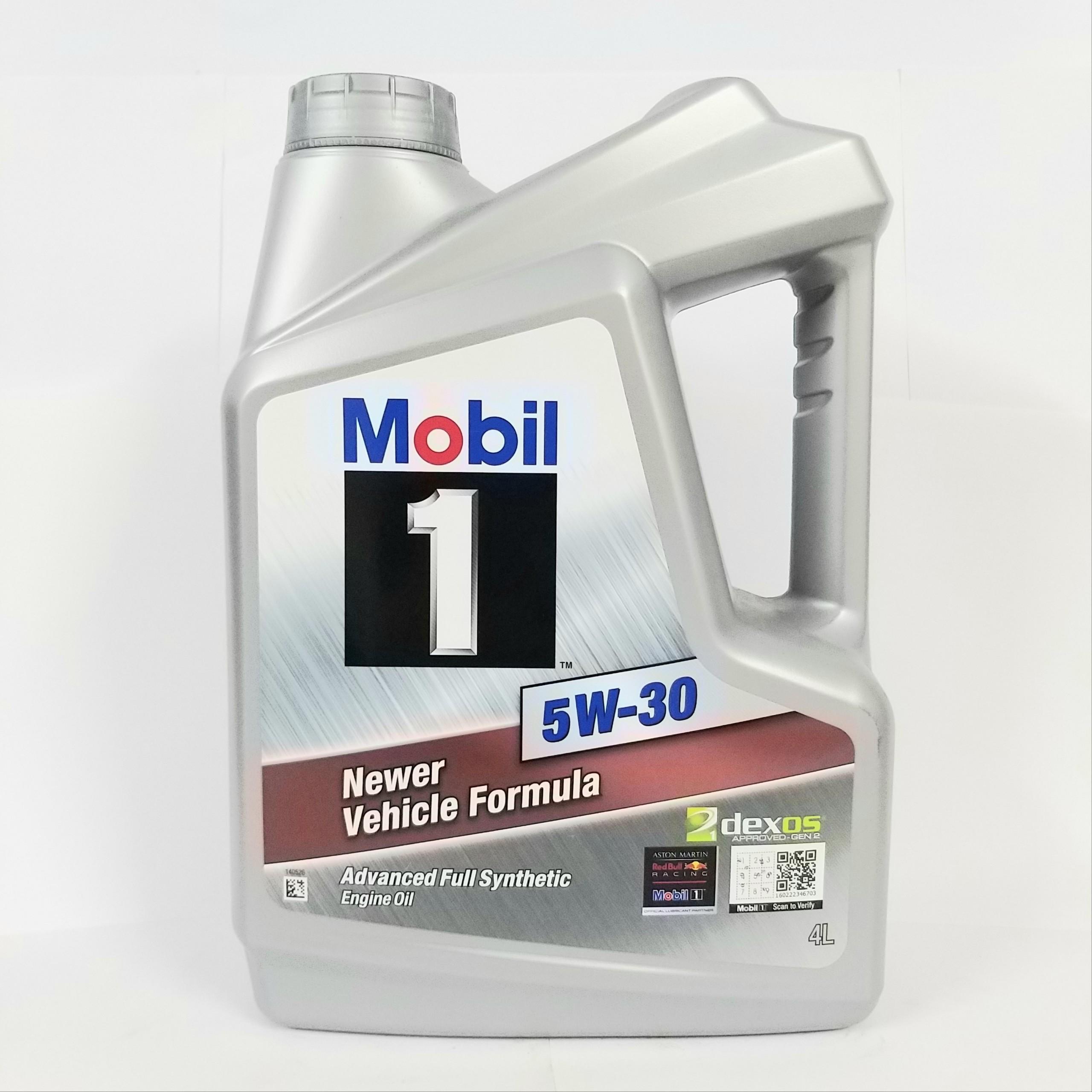 [ CAO CẤP ] Nhớt tổng hợp cao cấp Mobil 1 Newer Vehicle Formula 5w30 4L