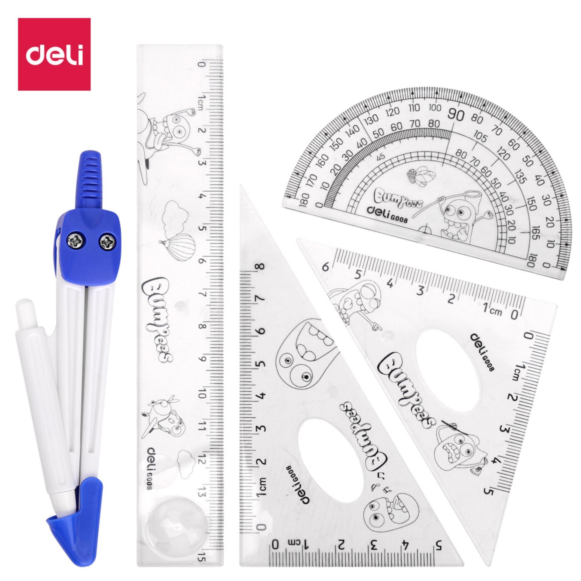 Mua DELI  Bộ dụng cụ đo Trong suốt-1 Bộ E9598