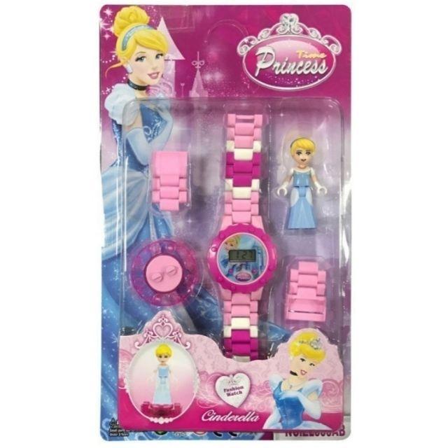Giá bán Đồng hồ Lego lắp ráp có hình nhân vật xoay trên mặt đồng hồ dành cho bé gái